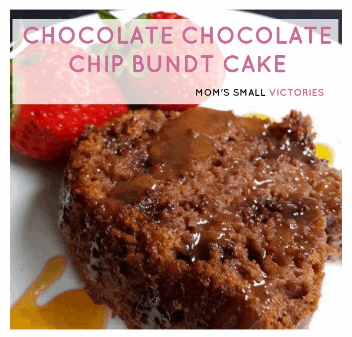 Recipe: Chocolate Chocolate Chip Bundt Cake
