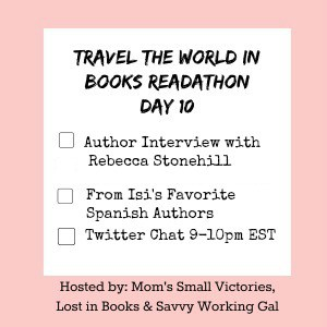 Travel the World in Books Readathon, Day 10 – For the Love of Spain