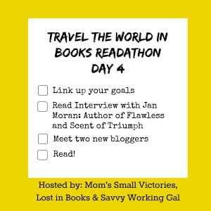 Travel the World in Books Readathon, Day 4: Author Interview with Jan Moran
