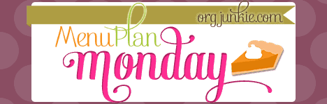 Menu Plan Monday-October 6, 2014