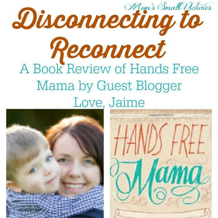 Be Our Guest Fridays {18): Disconnecting to Reconnect by Love, Jaime