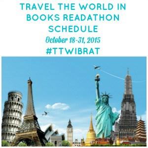 Travel the World in Books Readathon Schedule, October 2015