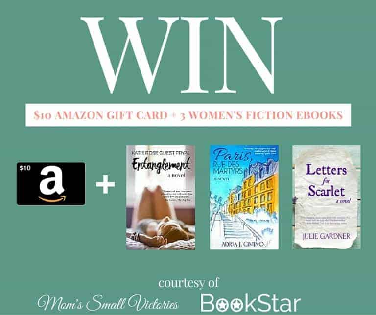 $10 Amazon Gift Card & 3 Women's Fiction Giveaway from BookStar
