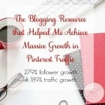 Pinning Perfect - the Blogging Resource that Helped Me Achieve Massive Growth in Pinterest Traffic.