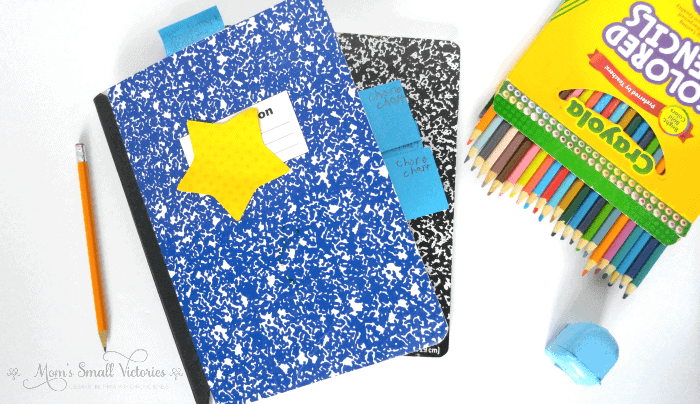 How a Summer Bullet Journal for Kids saved my sanity by Mom's Small Victories. A kids bullet journal is easy to put together using leftover school supplies you probably already have at home.