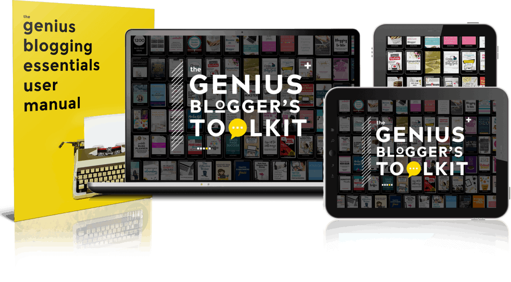 The Genius Blogger's Toolkit 2017 includes the Free Your Mind Blog Planner and 88 other blogging resources valued at over $5,800 on sale for one week only at 98% off retail price. Launch your blog to the next level with this amazing bundle of resources.
