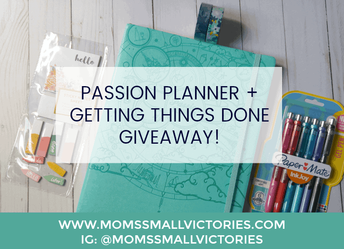 PASSION PLANNER GTD GIVEAWAY
