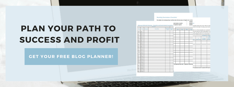 Subscribe to Mom's Small Victories Blogging Newsletter and get your FREE Ultimate Blog Planner to Build a Successful and Profitable Blog