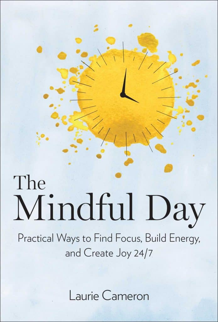 The Mindful Day* by Laurie J. Cameronis a very practical guide to implementing mindfulness in all aspects of our daily lives. I think it will help give me a greater sense of peace amidst the chaos of life. By focusing on the chapters that I struggle with most, I will be able to see positive results and experience quick wins right away. I highly recommend this book if you too are tired of feeling out of sorts or overwhelmed and are seeking a more peaceful, intentional, purposeful life.
