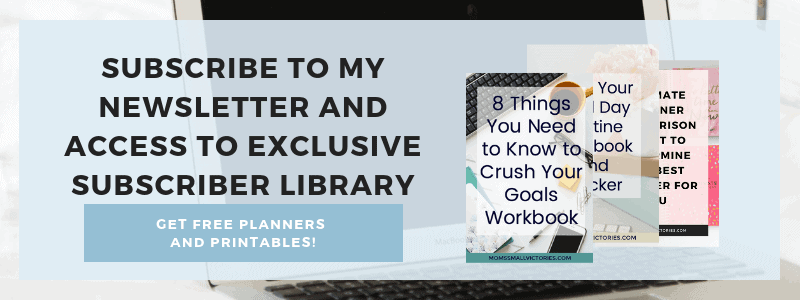 Subscribe to my Newsletter and get access to my Exclusive Subscriber Library including the FREE summer bucket list printable so you can have the best summer ever!