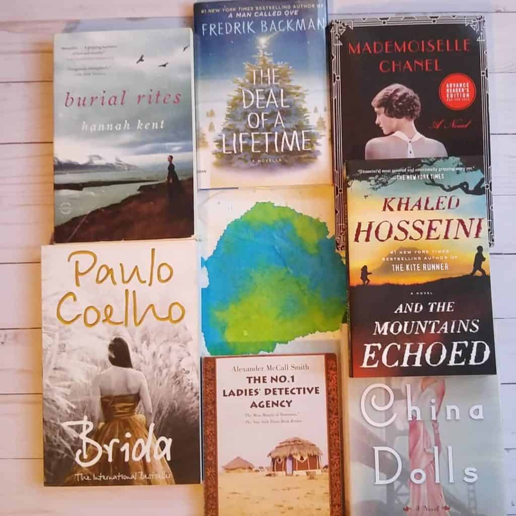 Reading Challenge Ideas: travel the world in books. Pick books based on a particular setting, countries you'd like to visit, states in your country. Here are some of my favorites from my travel of the world in books.