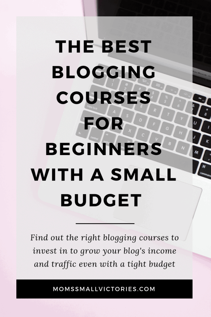 The best blogging courses for beginners with a small budget. Investing in the right blogging courses to grow your traffic and income are essential. Check out these best blogging courses to get the most bang for your buck when you're just starting out and money is tight.