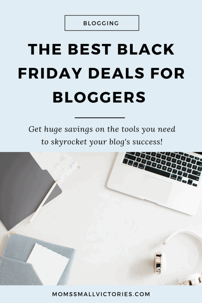 Successful blogs are built on a whole lot of passion and even more hard work. I love sharing blogging tips and tricks I've learned along the way and one of them is to snag thebest Black Friday deals for bloggers so you can skyrocket your blog's success in 2019and keep more income in your pocket!