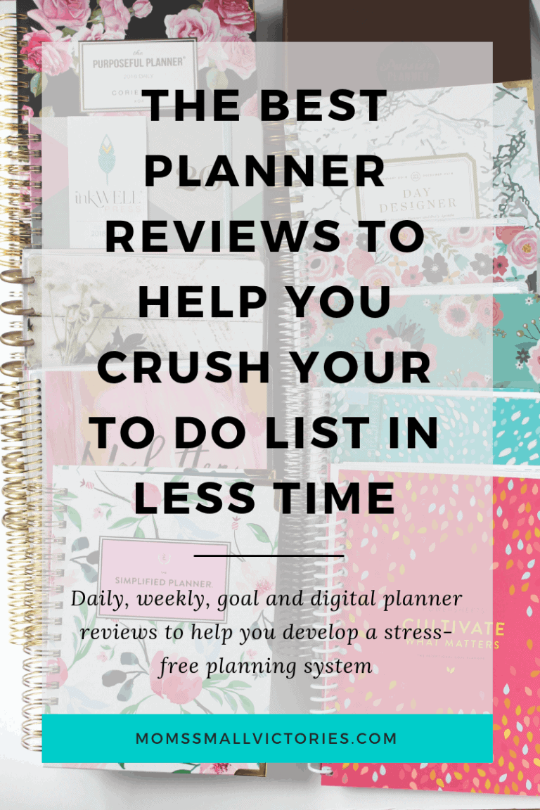 The Best Planner Reviews to Help You Get More Done in Less Time