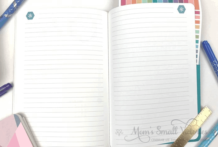 Erin Condren Daily Planner Review. There are 2 lined notes pages at the end of the Erin Condren Daily Petite Planners. If you're a big note taker and list maker like me, I recommend getting another Petite Lined Journal or Petite Dot Grid Journal to complete your GTD system.