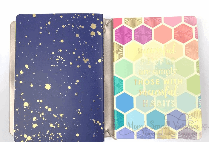 Erin Condren Daily Planner Review. The Checklist PEtite Journal in my On the Go Folio is one of my favorite journals. I am so motivated by checking things off a list and this beauty holds checklists for my daily routines, weekly routines, cleaning schedule, monthly routines, quarterly routines, books I want to read, reading challenges I'm going for and much more!