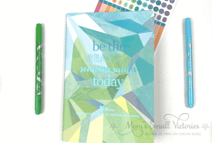 the Erin Condren Daily Petite Planner volume 4 contains daily planning pages for Oct to Dec 2020.
