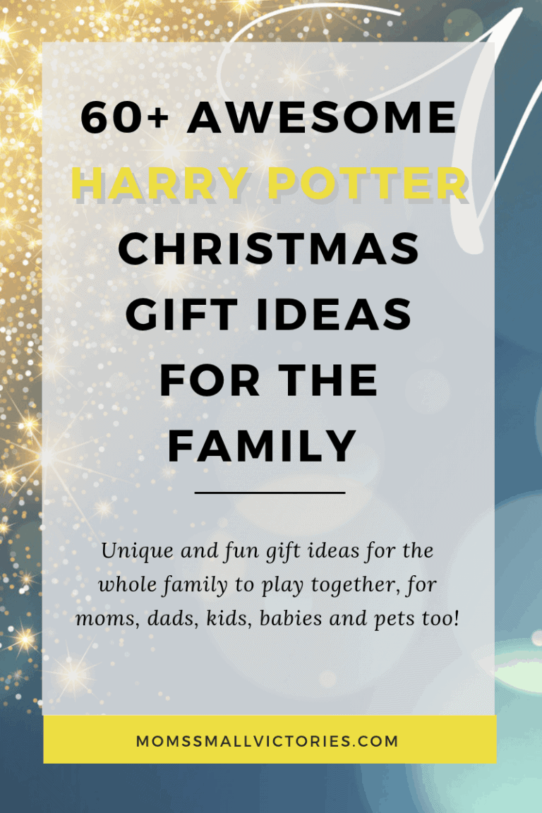 60+ Awesome Harry Potter Christmas Gift Ideas (for the Whole Family)