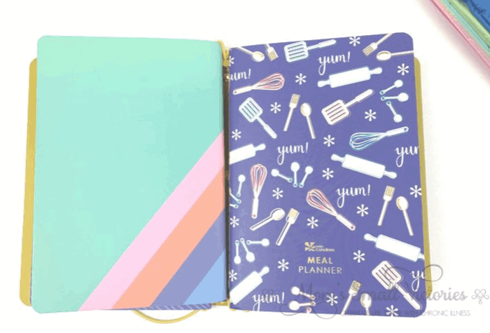 Erin Condren Daily Planner Review. The Erin Condren Petite meal planner is one of the notebooks in my On the Go Folio.
