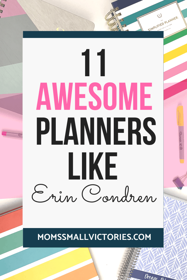 11 Awesome Planners Like Erin Condren