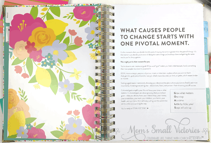 The Powersheets 2020 goal planner inspires you to take the courage to make positive changes in your life.