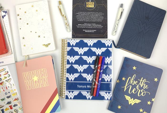 Erin Condren Wonder Woman Planner and Accessories Review
